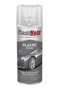 plastic primer adheres to most automotive plastics for use on car. Black Bedroom Furniture Sets. Home Design Ideas